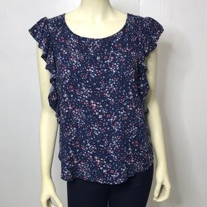 Arizona Girls XXL 20 1/2 Plus Floral Top